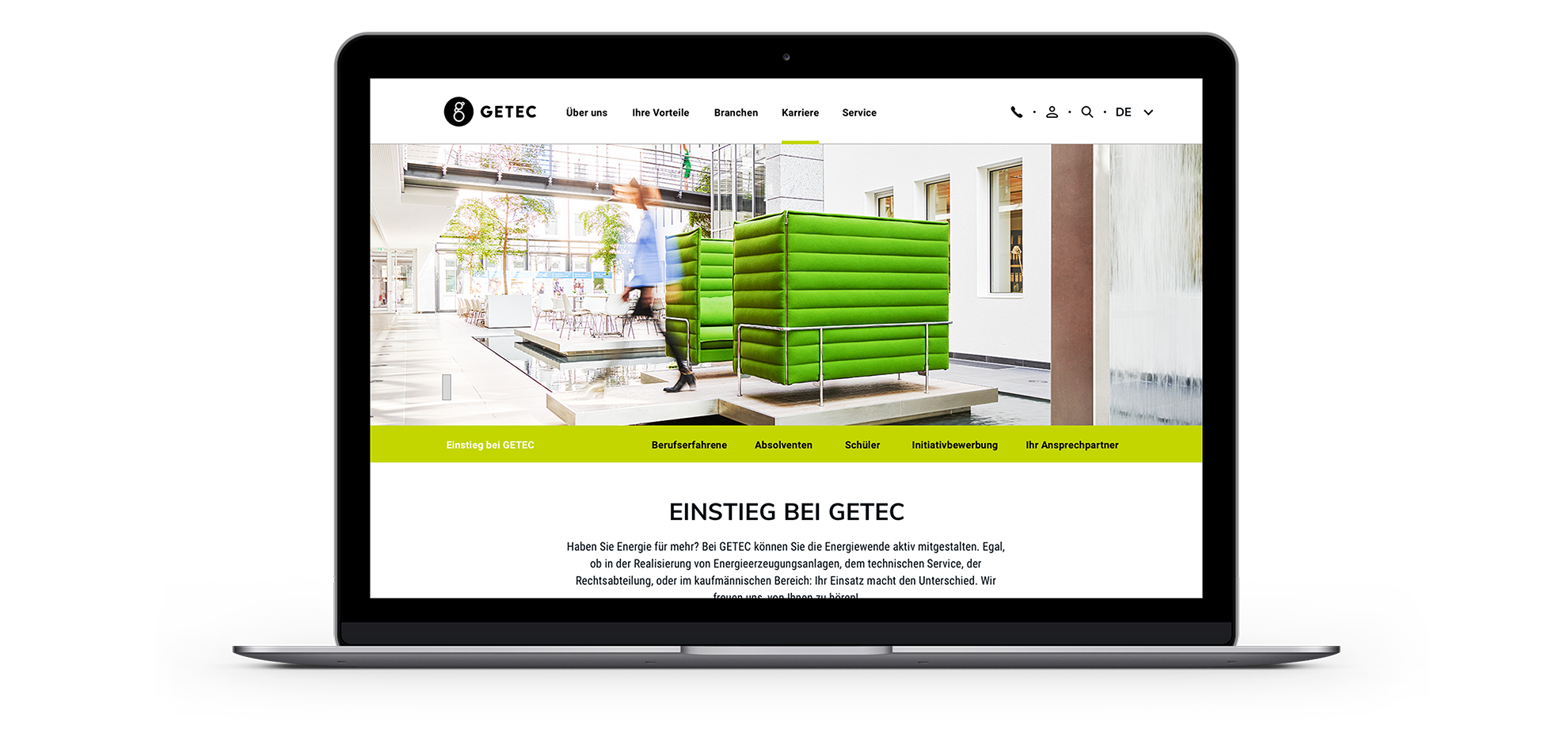 GETEC Website