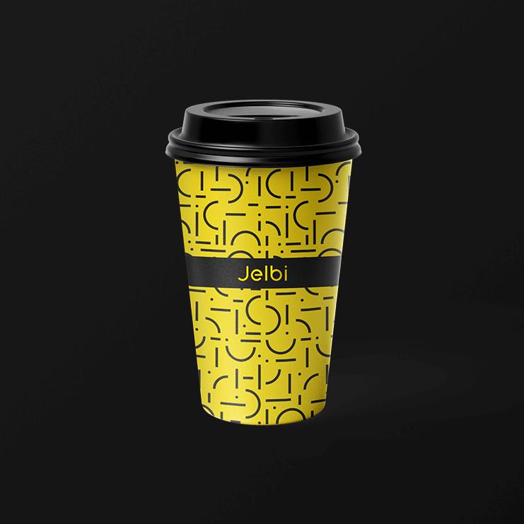 Jelbi Merchandising Kaffeebecher