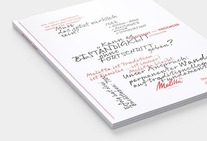 Melitta Geschaeftsbericht 2015 Cover