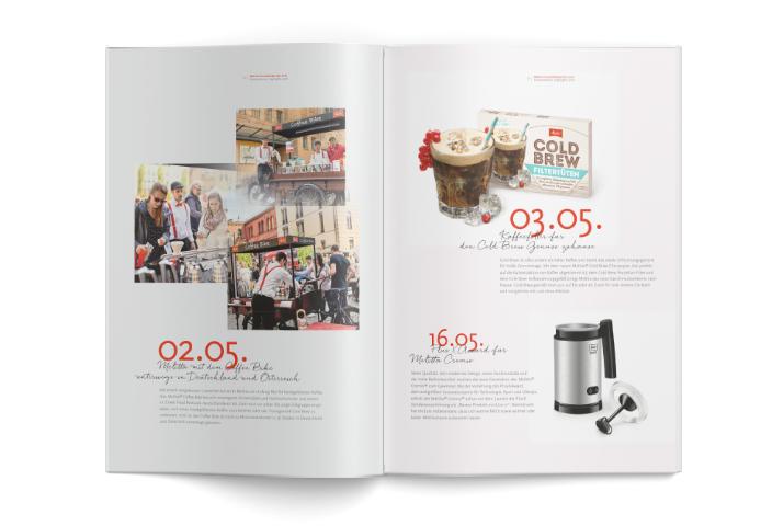 Melitta Geschäftsbericht 2016, Innenseite 04