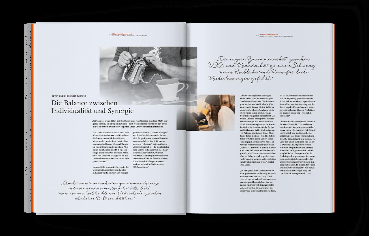 Melitta Geschäftsbericht 2016, Innenseite 05