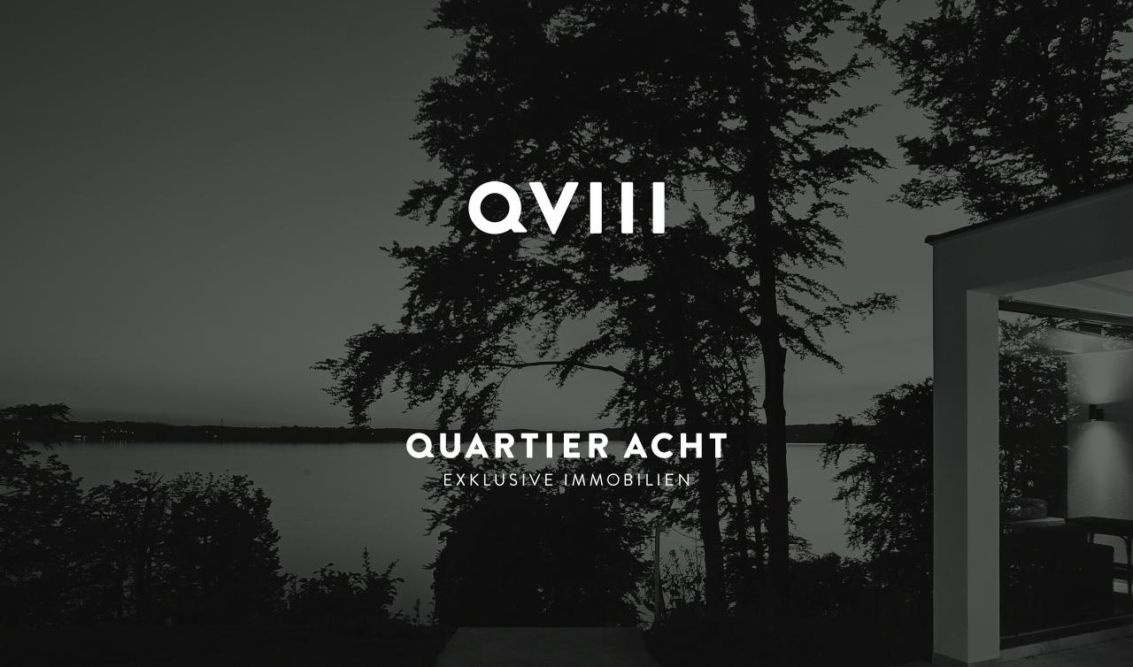 Quartier Acht – Exklusive Immobilien Wortmarke