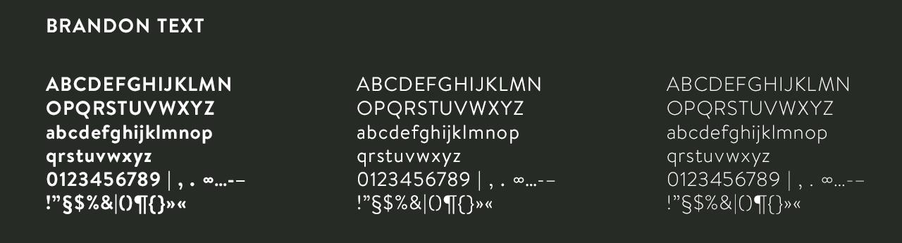 QVIII-typografie