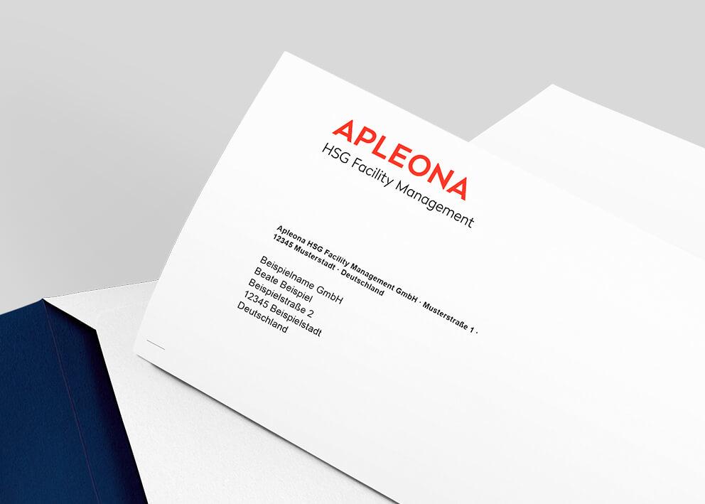 Apleona Briefschaft