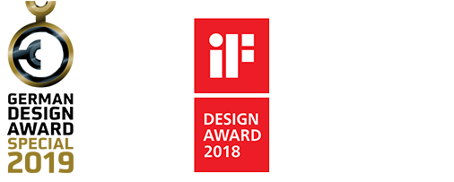 Aqseptence Awards – German Design Award special 2019, iF Design Award 2018