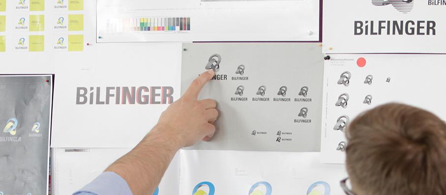 Bilfinger Logo Entstehung