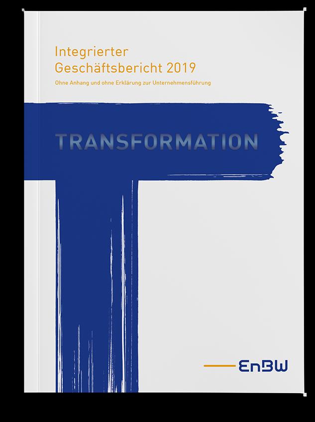 EnBW Geschaeftsbericht Cover 2019