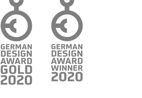 German Design Award Gold 2020, German Design Award Winner 2020