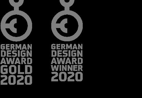German Design Award Gold 2020, German Design Award Winner 2020