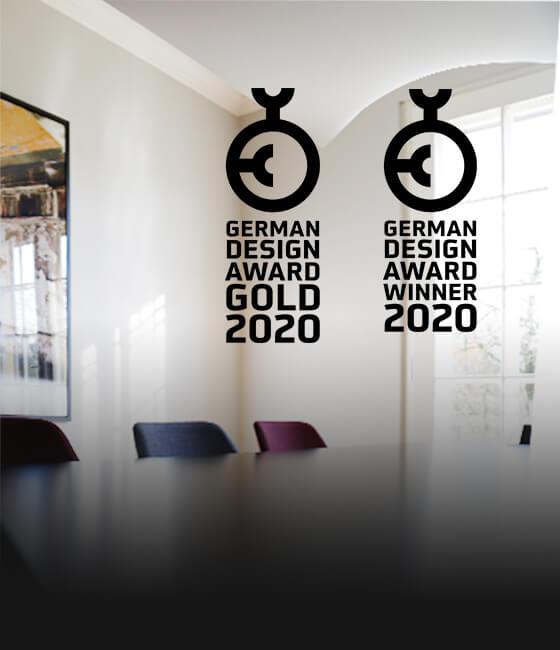 German Design Award 2020: Gold für Jelbi, Winner für den EnBW Geschäftsbericht!