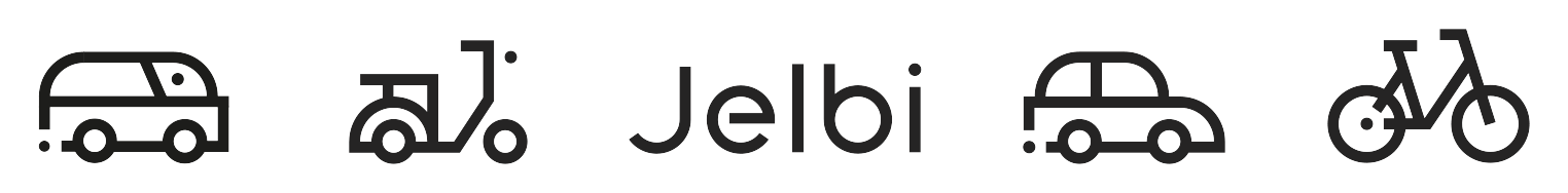 Jelbi Logo und Icons