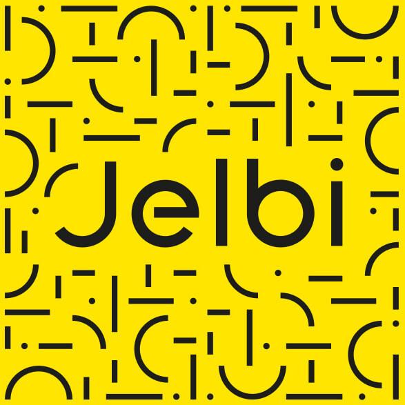 Jelbi Logo und Muster