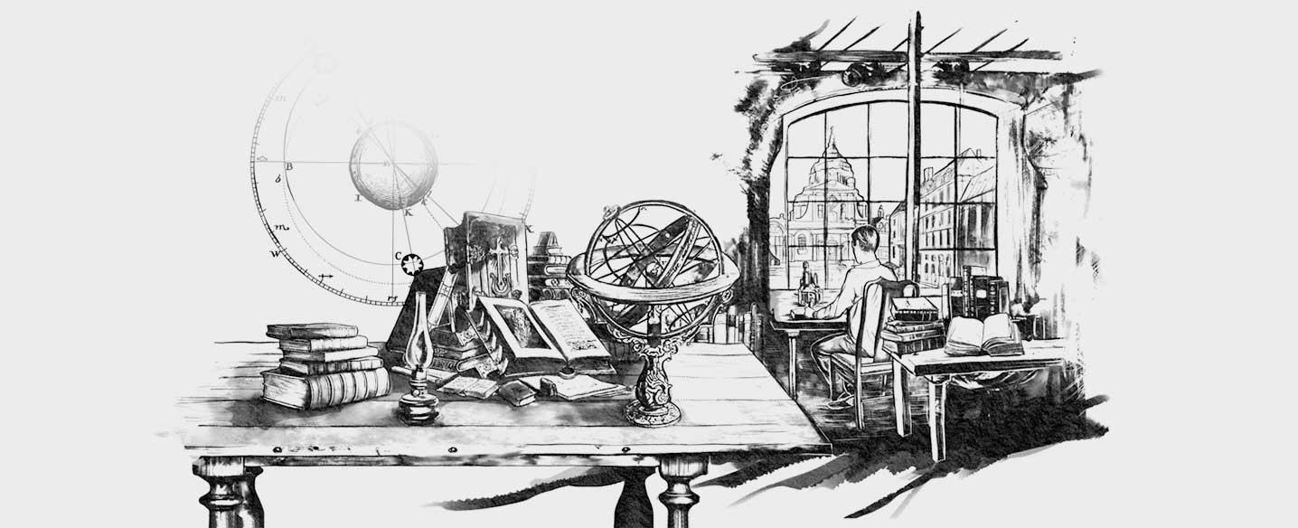 Lange & Söhne Illustration Arbeitszimmer