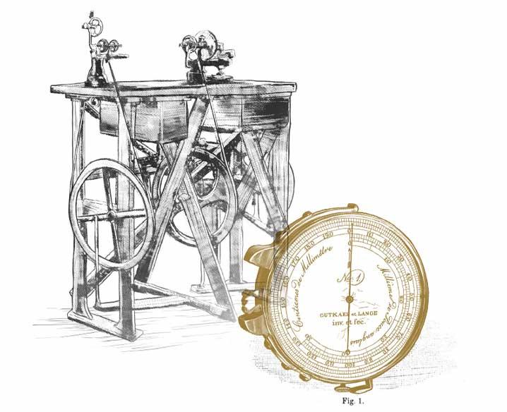 Lange & Söhne Illustration Uhr