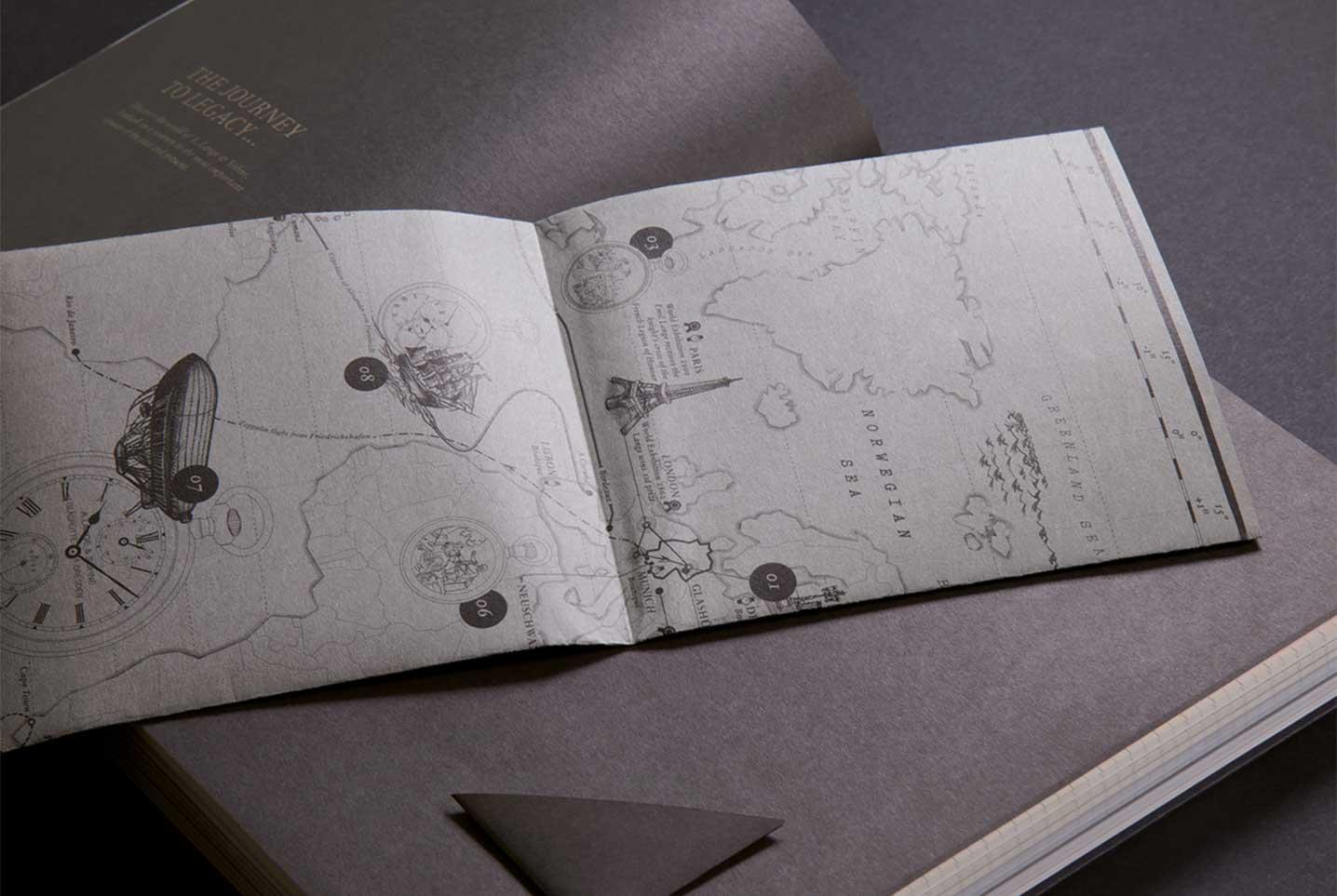 Lange & Söhne Umsetzung Karte