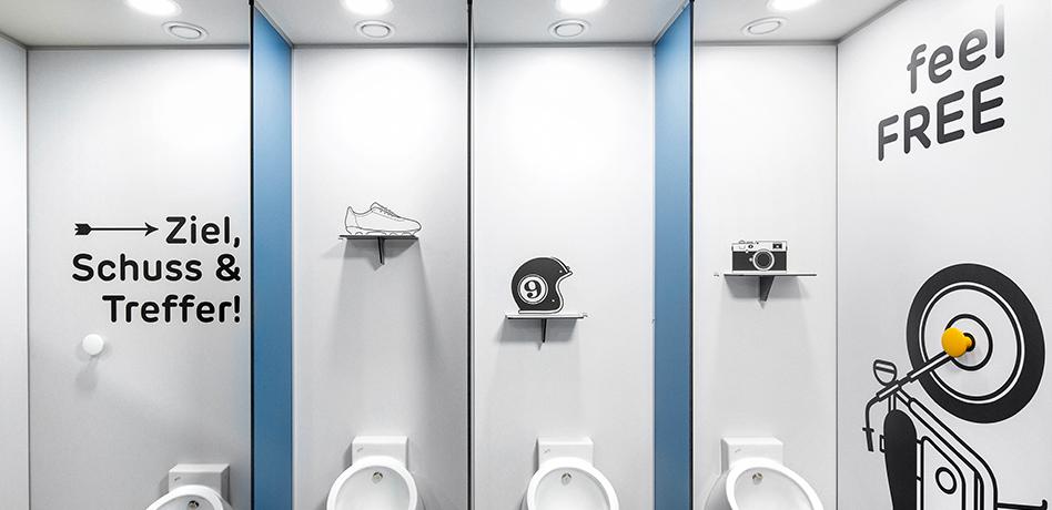 Loo&Me Anlage – Urinale