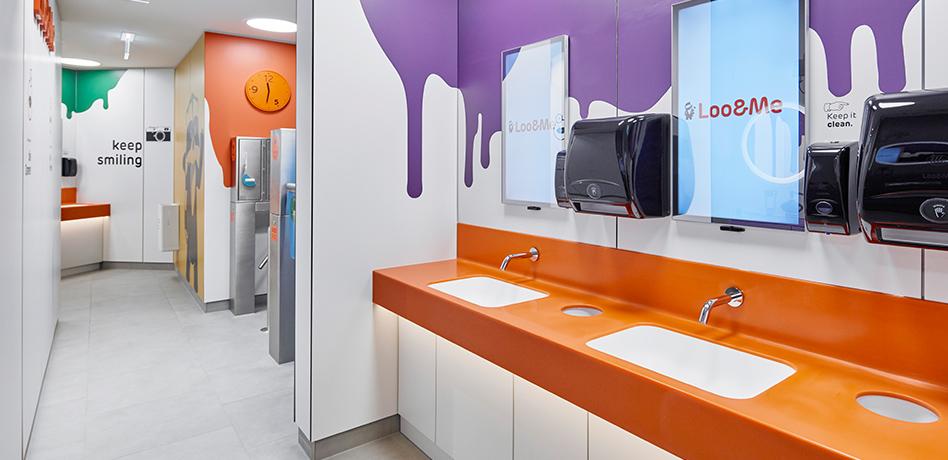 Loo&Me Anlage – Waschbecken