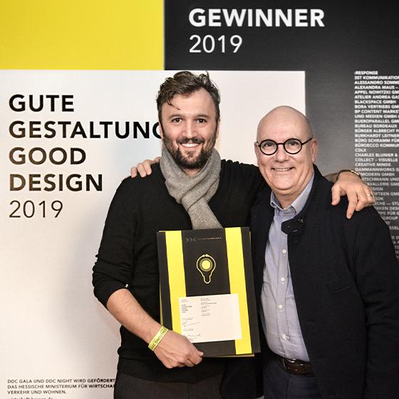 DDC Award 2019 für Jelbi Brand Identity
