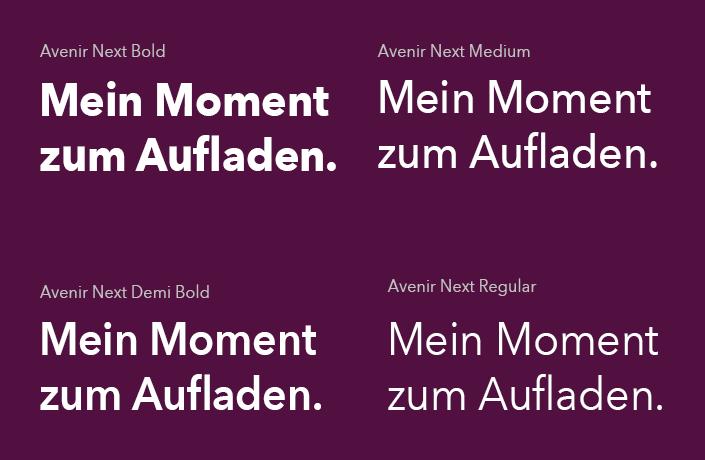 Serways Typografie