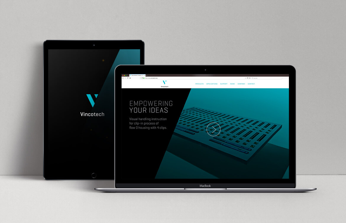 Vincotech Webdesign Look and Feel
